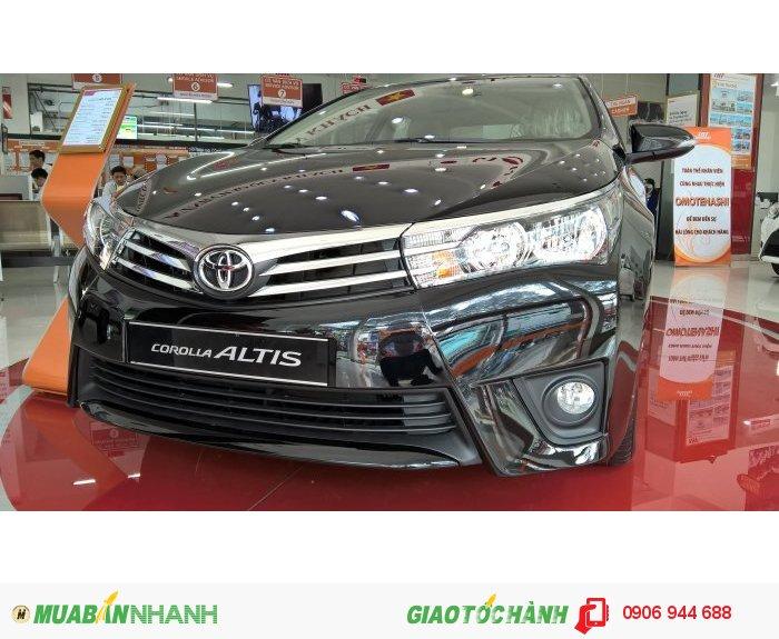 Toyota Altis 1.8CVT, chỉ cần 260tr có xe ngay. Tặng phụ kiện chính hãng.