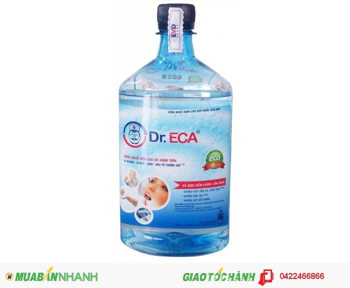 Dung dịch khử trùng Dr.ECA