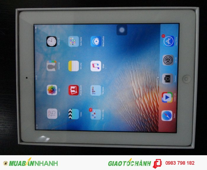 Ipad4-4G-32GB White