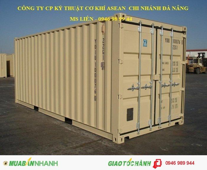 Cho thuê Container Kho 20, 40 Feet Uy Tín Tại Hà Tĩnh
