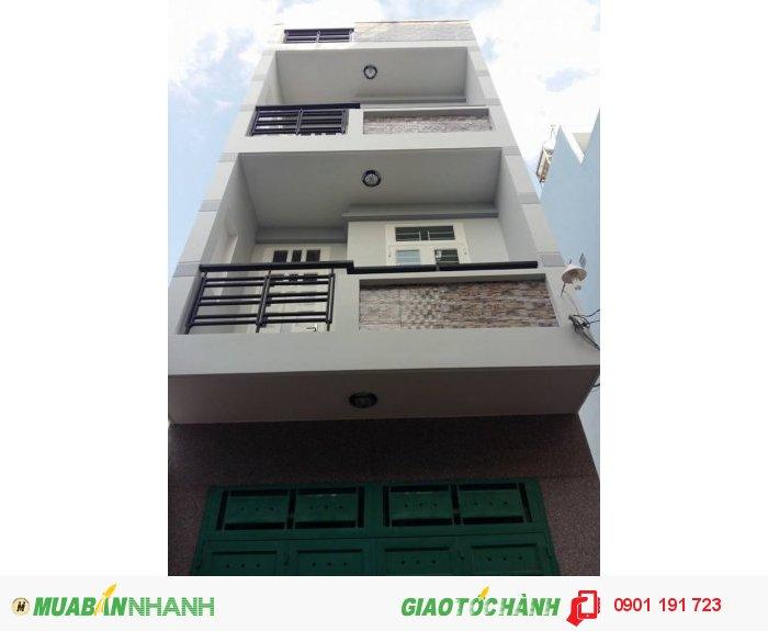 Bán nhà tuyệt đẹp đúc 3,5 tấm 4PN sân xe hơi ngay đường 21 Phạm Văn Đồng