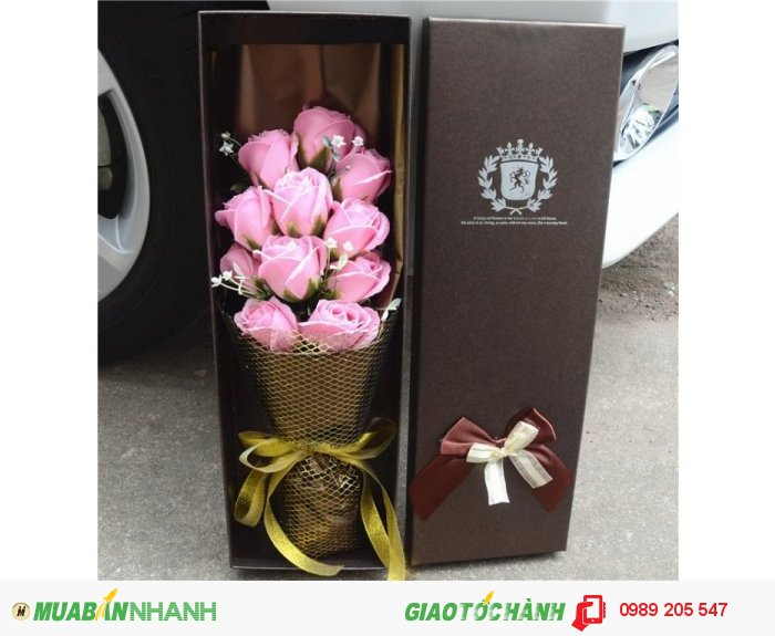 Hộp hoa sáp cao cấp 11 bông3