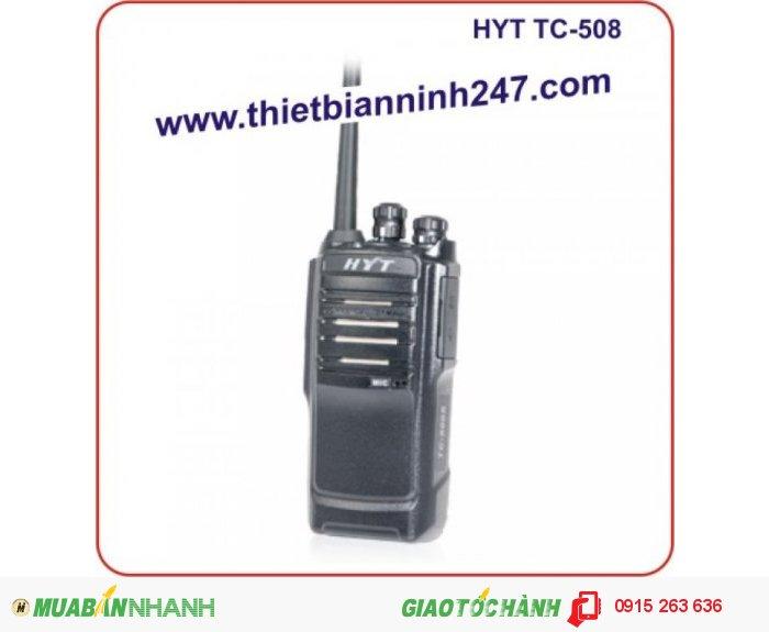 Bộ đàm cầm tay HYT TC-508 UHF
