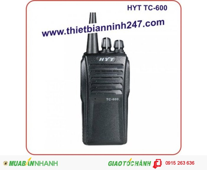 Bộ đàm cầm tay HYT TC600 UHF