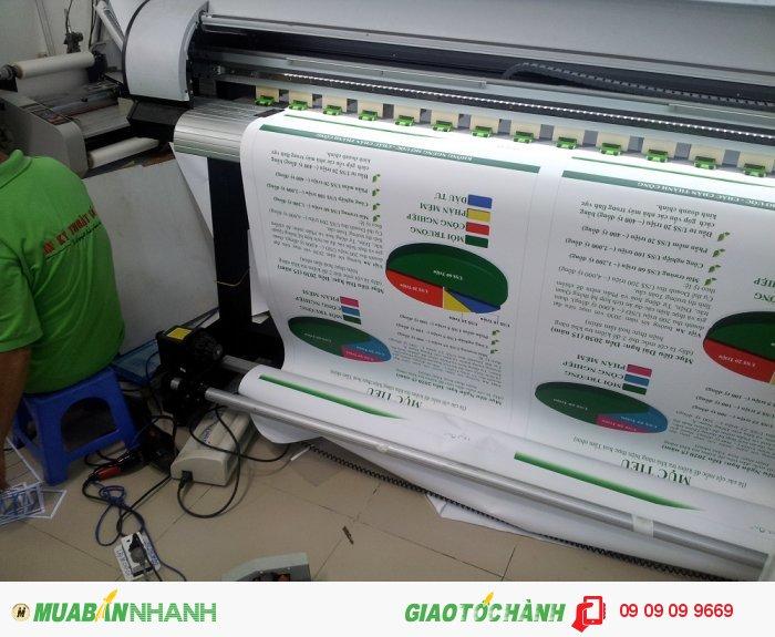 Trực tiếp sở hữu hệ thống máy in mực dầu Mimaki, máy in mực nước khổ lớn,...