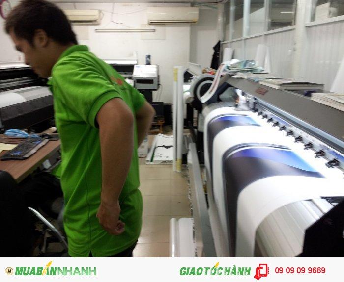 Hệ thống nhiều máy in trong nhà, máy in mực nước đáp ứng nhanh các yêu cầu in...