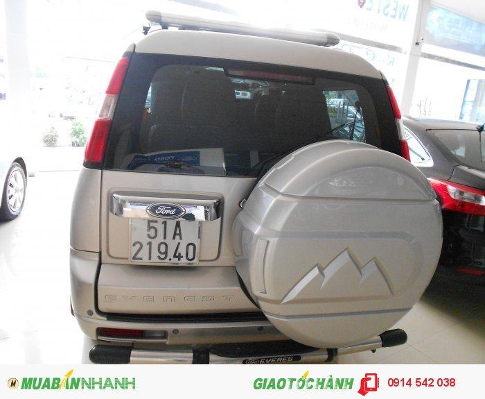 Bán Ford Everest 4x2 MT sx 2011 ghi vàng bstp 1