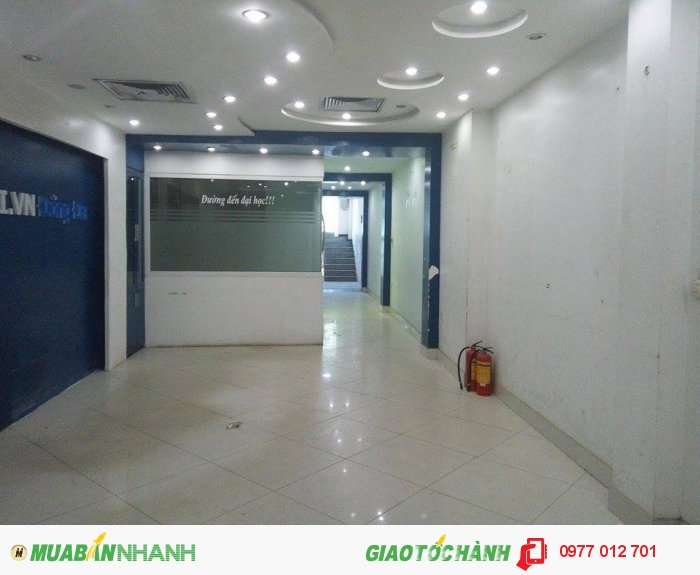 Cho thuê nhà  8 tầng ngã ba  Xã Đàn – Nam Đồng chỉ 15 triệu/tháng/sàn