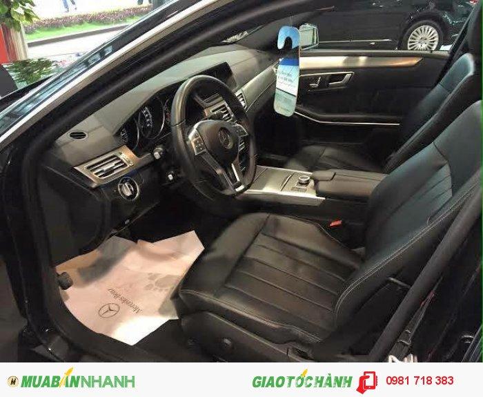 Bán Mercedes E200 editionE màu đen nội thất đen sản xuất 2015