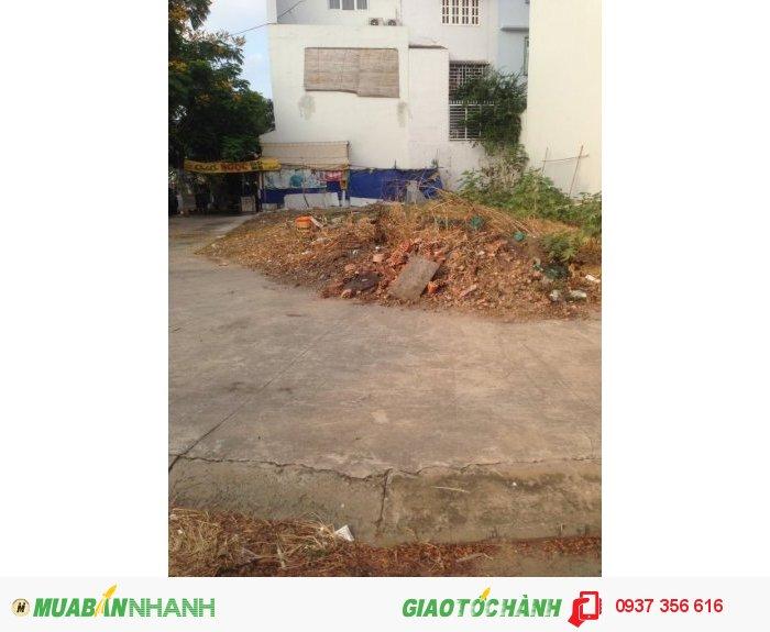 Đất nền lô số 1,đường Nguyễn Thị Thữ,Hóc Môn,120m2