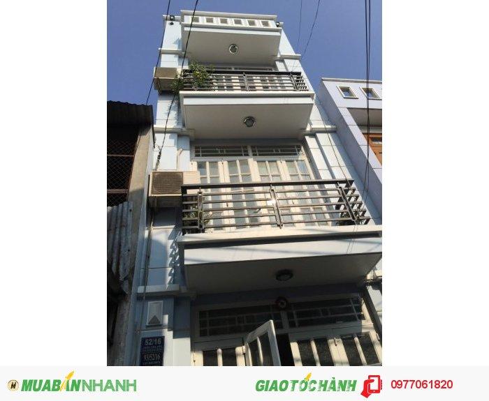 Bán nhà còn mới 4x11m Hẻm 6m 52 Trần Văn Cẩn, Tân Phú cách Đầm Sen 500m  giá 2,5 tỷ.