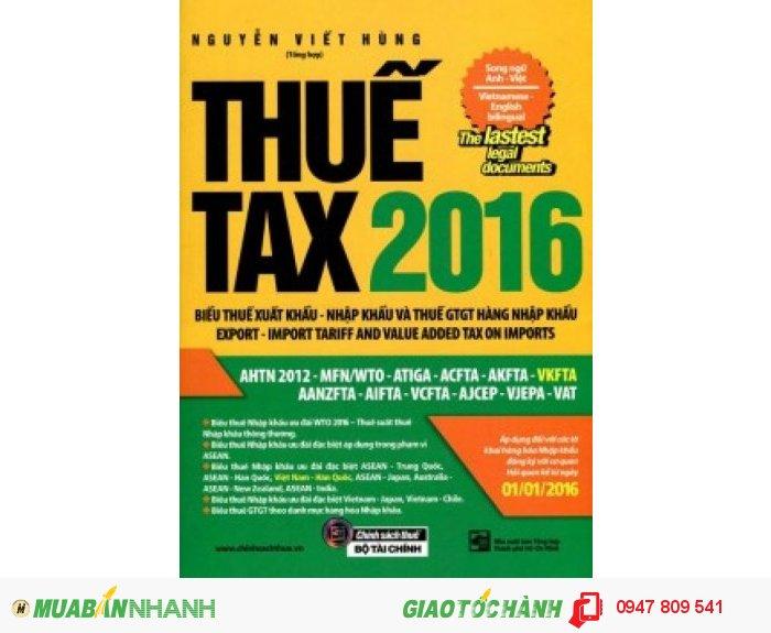 Biểu thuế xuất nhập khẩu song ngữ tiếng Anh 2016 - Thuế TAX 2016, 1