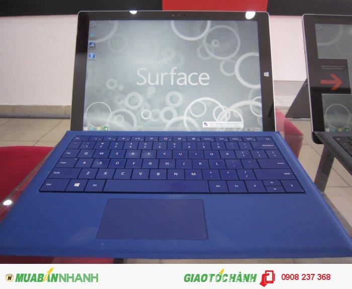 Surface Pro 3 i7/8/512 mới 98%, máy+sạc+cover, xách tay Mỹ, giá rẻ
