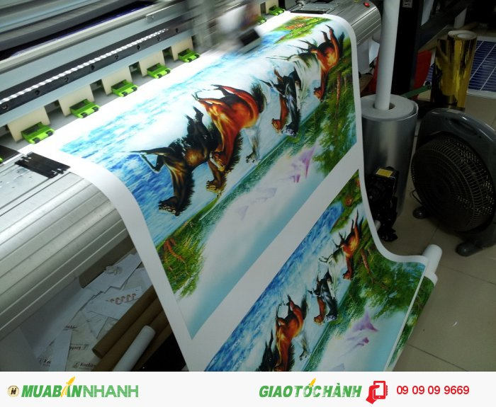 In canvas TPHCM | Dịch vụ in tranh canvas chất lượng cao