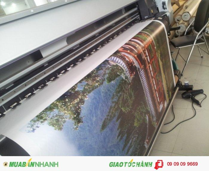 In nhanh canvas mực dầu | Vải canvas là loại vải bố được làm từ chất liệu t�...