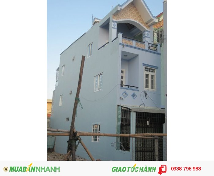 Bán nhà Quận 8, 72m2, 1 trệt 2 lầu, hẻm rộng, ngay sát ĐL Võ Văn Kiệt, chính chủ rao bán