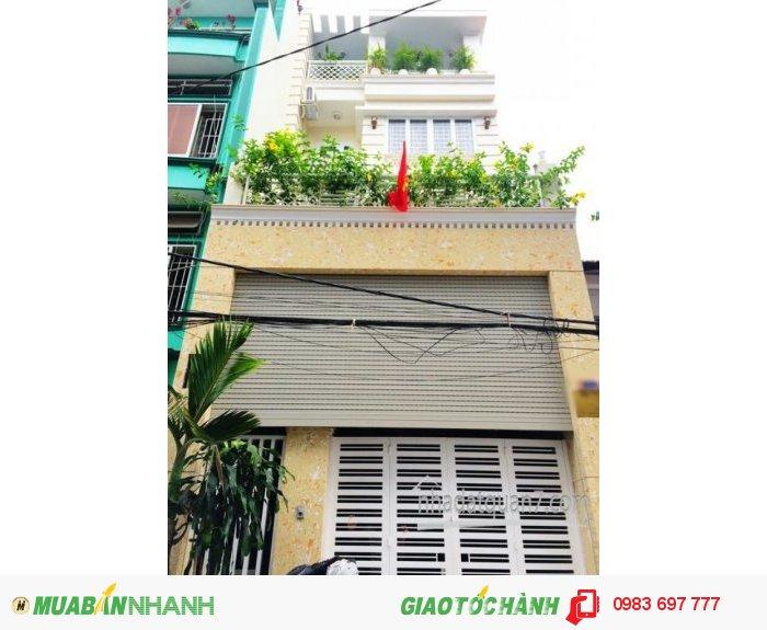 Bán gấp nhà phố  Biệt Thự hiện đại 4 lầu NTCC hẽm nhựa 8m đường Gò Ô Môi, Q7