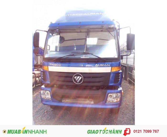 Xe tải 3 chân THACO Auman AC2400A – 14,3 tấn thùng dài 9,5m. Xe 3 chân14,3 tấn