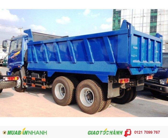 Xe Ben 3 chân THACO Auman D240, 13 tấn, 11 m3 . Xe Ben 3 chân THACO Auman D240
