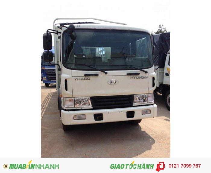 Xe tải 3 chân Hyundai HD210 nhập khẩu 13,8 tấn thùng 7,4 m Xe tải 3 chân Hyundai