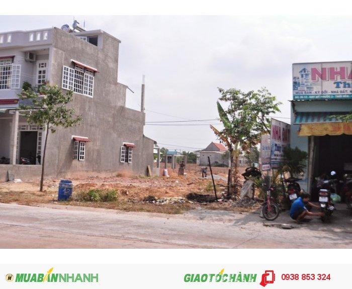 Đất thổ cư giá rẻ 310TR mặt tiền chợ Đường DJ9 Mỹ Phước 3