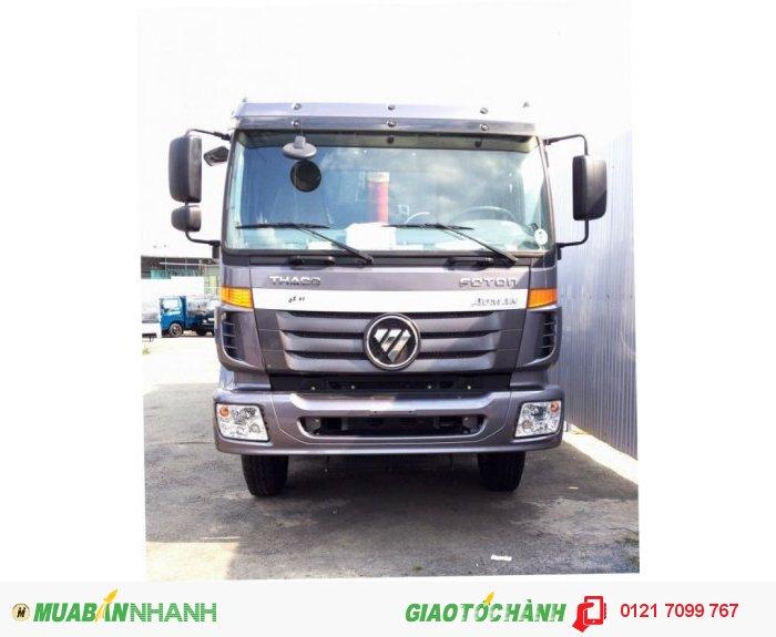 Xe Ben 4 chân D300, Ben THACO Auman D300 tải trọng 17,7 tấn thùng 14,5 m3
