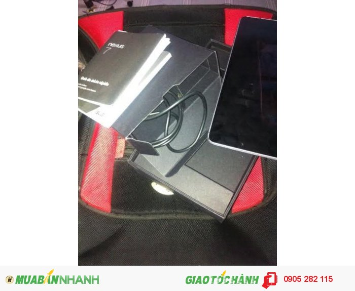 Google Nexus 7 Gen 1 16G Wiffi Zin Còn Hộp Sách