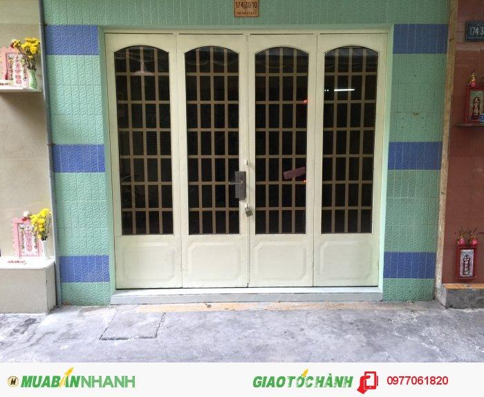 Bán nhà 1 lửng 1 lầu còn mới hẻm 4m 174 Thái Phiên Q11 giá 2,3 Tỷ