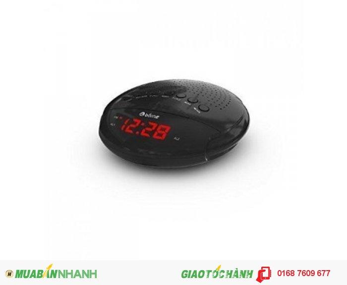 Borne Cr630d Digital Am/Fm Clock Radio. 0.6