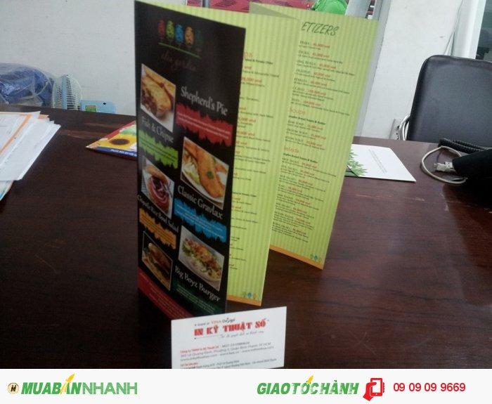 In brochure cho nhà hàng, quán cà phê | Sử dụng như một dạng tờ rơi chi tiết, g�...