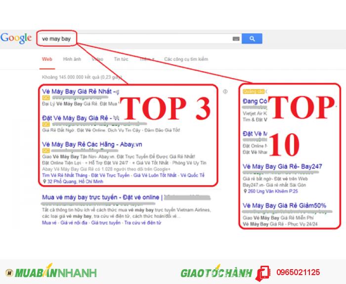Quảng cáo google adwords uy tín, hiệu quả, chất lượng