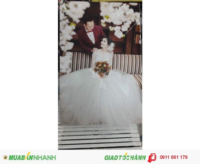 Trang trí ảnh cưới 3D cho khung ảnh cưới sống động, đong đầy kỷ niệm