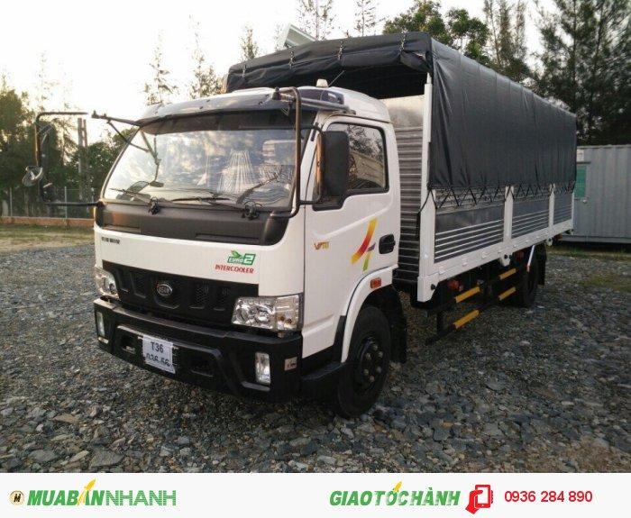 Xe 3,5 tấn thùng dài 6,2m mới 100% hotlink: 0936 28 48 90