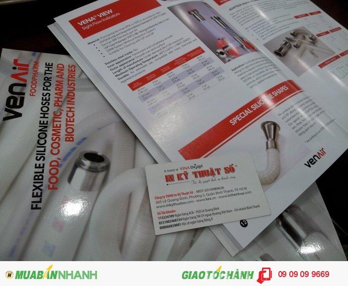 In catalogue cho công ty VINASIL chuyên sản phẩm vòi, ống silicone dùng trong công nghi��...