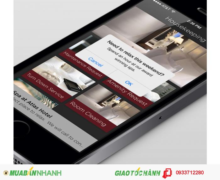- eHotel Mobile:  Mỗi hotel, resort được làm thành 1 app, chỉ cần tải về điện thoại hay ipad, khách có thể thỏa sức tra cứu thông tin hotel, địa điểm, tour du lịch...