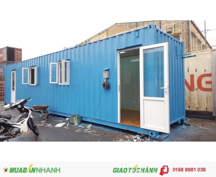 Cho thuê container văn phòng, kho giá rẻ
