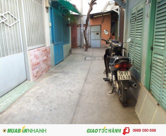 Bán nhà hẻm Lê Văn Sỹ, P.14, quận 3