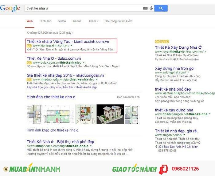 Quảng cáo google AD hiệu quả chất lượng cao