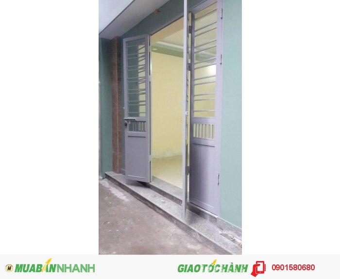 Nhà xây độc lập, 40 m2 Phạm Hữu Điều, Đông Nam, 850tr. Có TL