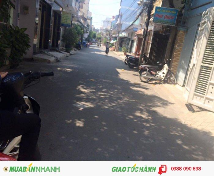 Bán gấp nhà hẻm xe hơi Lê Văn Huân, phường 13, Tân Bình, diện tích: 4x20m