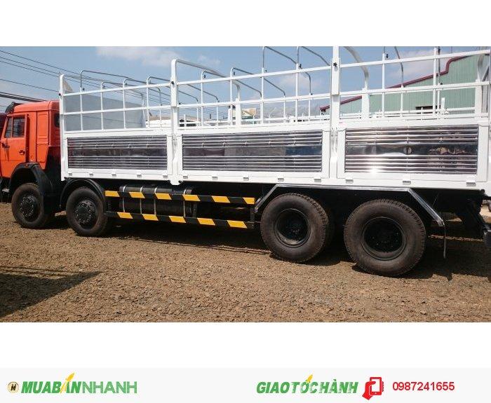 Xe tải thùng kamaz 19 tấn.(kamaz Bình Phước).