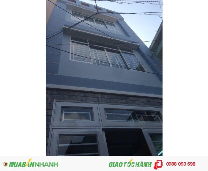 Bán nhà hẻm Thân Nhân Trung, p.13, Tân Bình, DT 3x15m (nở hậu 4m