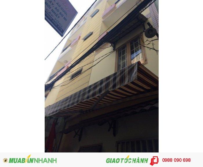 Bán nhà hẻm xe hơi Hoàng Hoa Thám, P.5, Phú Nhuận. DT 8.2x6m