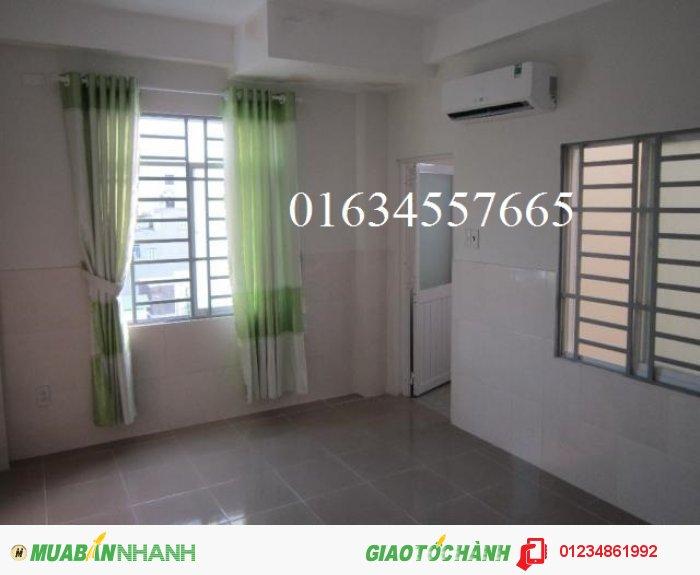Cho thuê phòng quận Tân Bình, giá 2,7tr có máy lạnh,nệm,vệ sinh riêng.