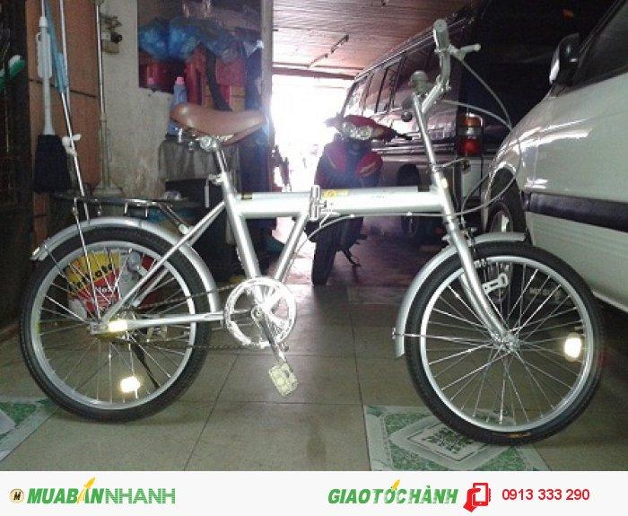 Xe đạp gấp hàng bãi