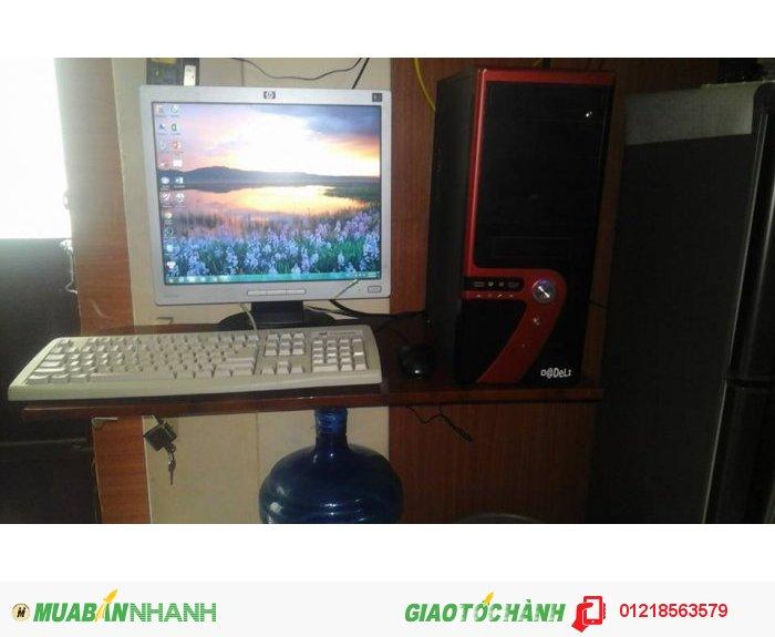 Bán gấp Máy tính bàn G31, LCD 18 In, xem phim full hd
