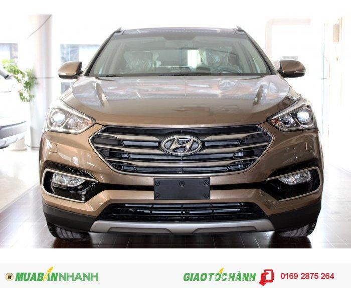 Hyundai Santafe full xăng 2016-Hoàn toàn mới-Hỗ trợ trả góp 80%