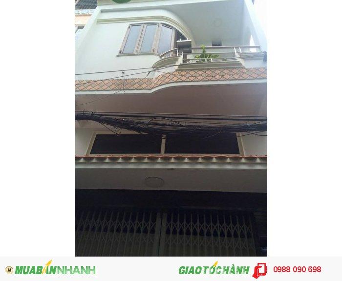 Bán nhà hẻm taxi Đồng Đen, P.14 , TB. Dt 4.2x9.35m, nở hậu 5.1m