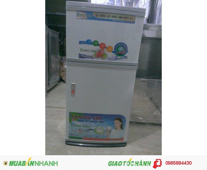 Tủ inox cánh nhựa trẻ trung ( giống 1 chiếc tủ lạnh)