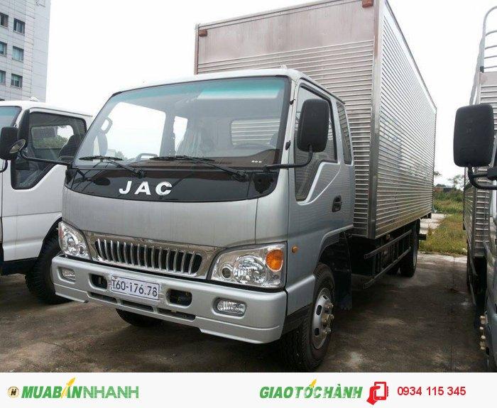 Xe tải jac 3T45= jac 3tan45= jac 3,45 TẤN= jac 3t45 trả góp giá ưu đãi hàng đầu.